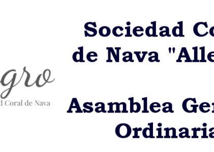 29/09/2018 Asamblea General Ordinaria